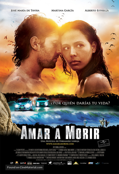 Amar a morir - Mexican Movie Poster