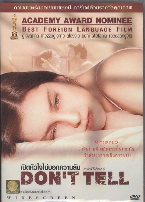 Bestia nel cuore, La - Thai poster
