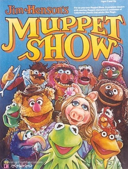 """""""The Muppet Show"""" - Movie Cover"""