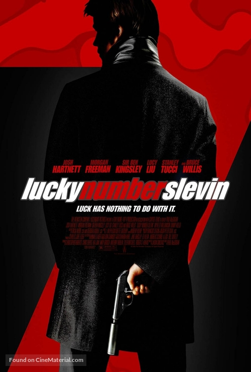 Lucky Number Slevin - Movie Poster