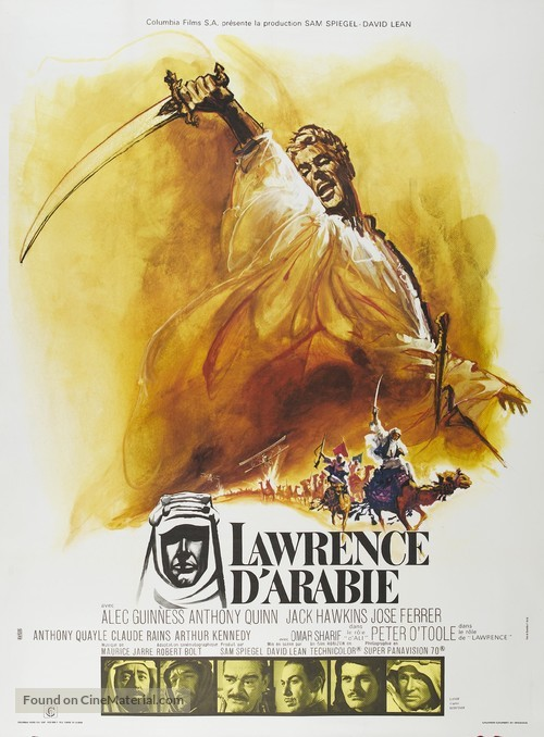 Lawrence of Arabia - French Movie Poster