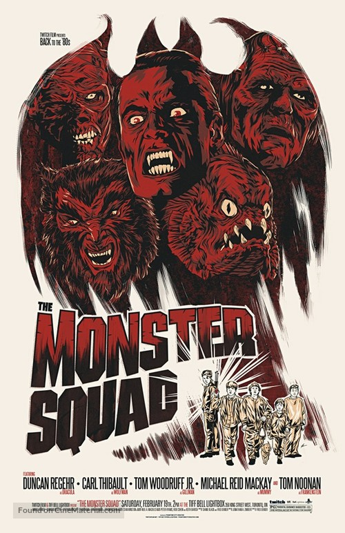 The Monster Squad - Canadian Homage movie poster