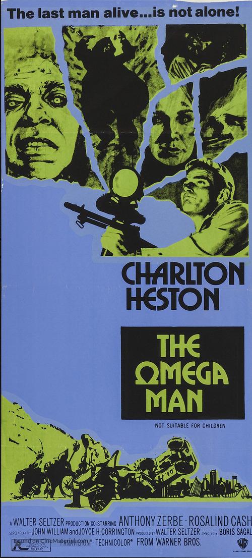 The Omega Man - Australian Movie Poster
