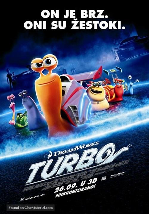 Turbo - Croatian Movie Poster