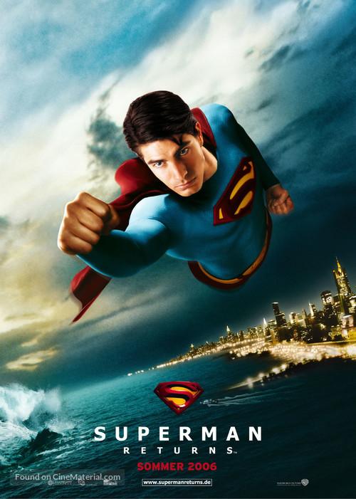 Superman Returns - German Movie Poster