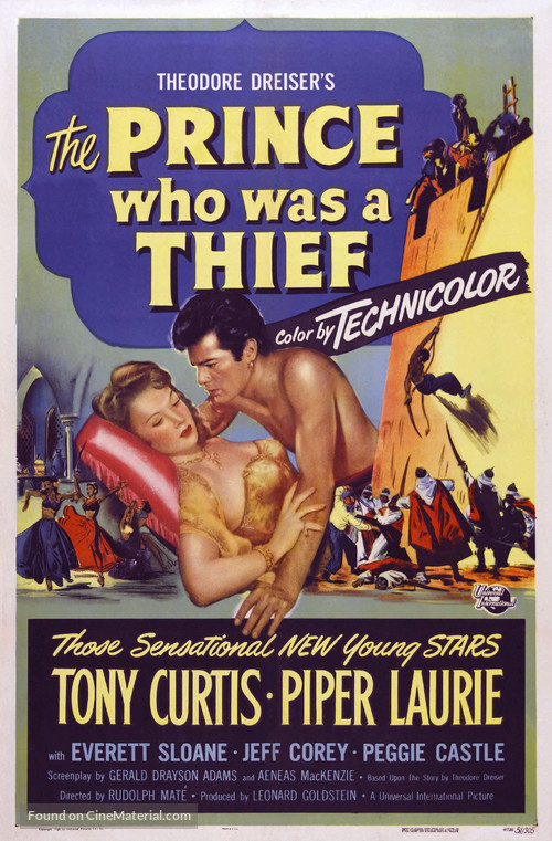 The Prince Who Was a Thief - Movie Poster