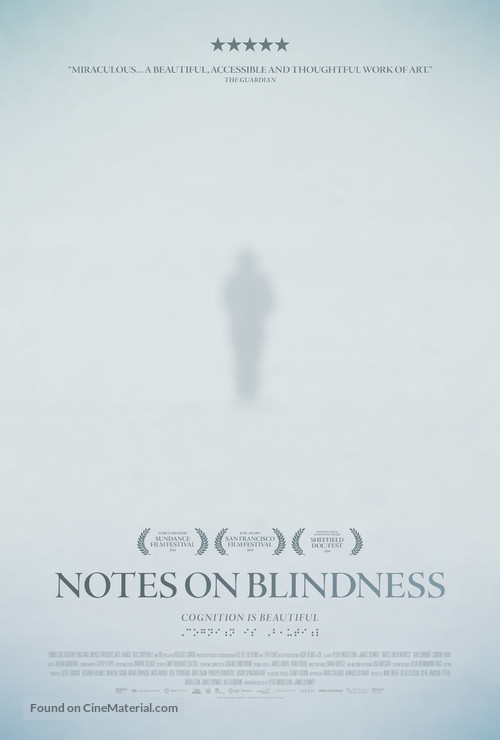 Notes on Blindness - Movie Poster