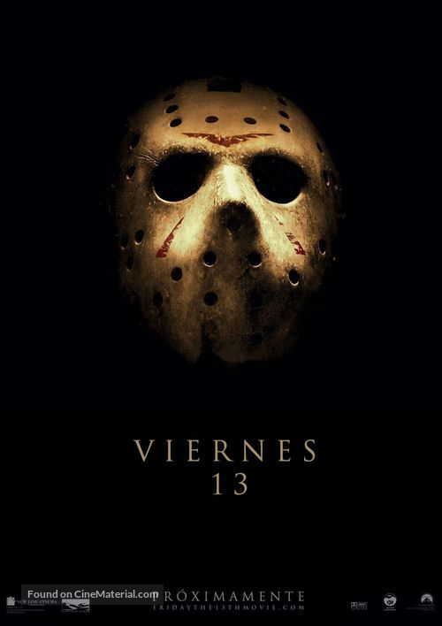 Friday the 13th - Spanish Movie Poster