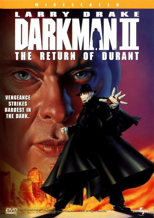 Darkman II: The Return of Durant - DVD movie cover