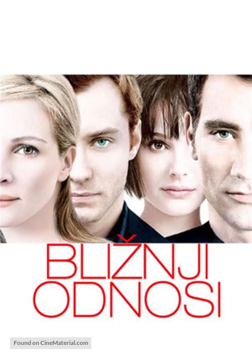 Closer - Slovenian Movie Poster