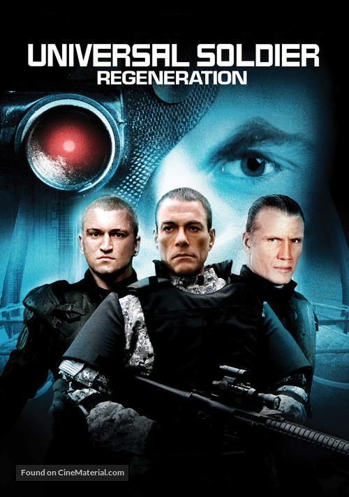 Universal Soldier: Regeneration - Movie Cover