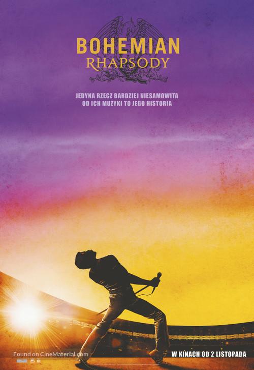 Bohemian Rhapsody - Polish Movie Poster