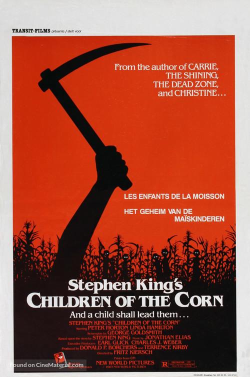 Children of the Corn - Belgian Movie Poster