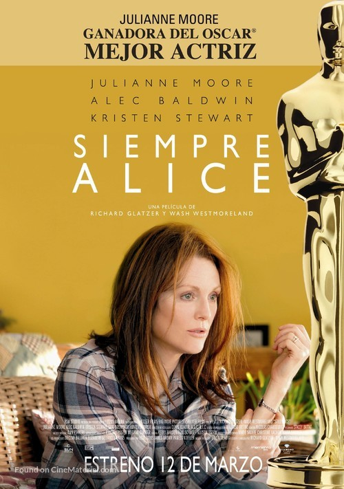 Still Alice - Chilean Movie Poster