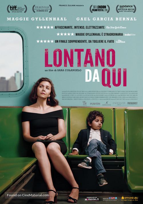 The Kindergarten Teacher - Italian Movie Poster