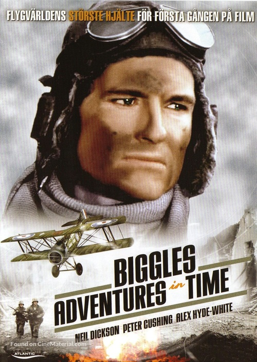 Biggles - Swedish Movie Cover