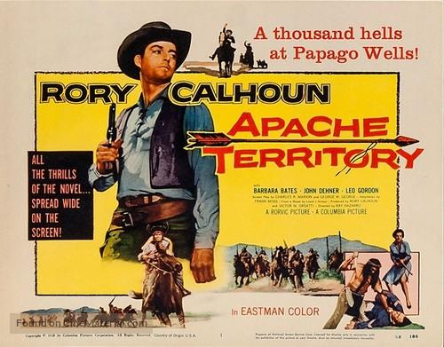 Apache Territory - Movie Poster
