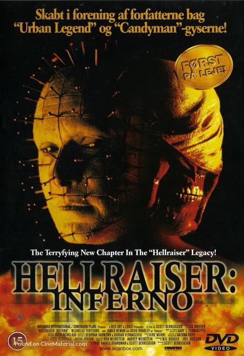 Hellraiser: Inferno - Danish Movie Cover