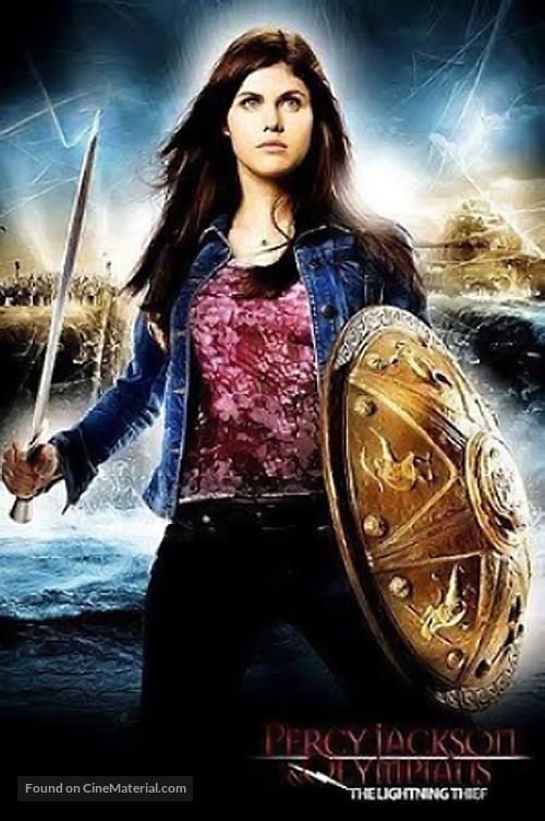 Percy Jackson The Olympians The Lightning Thief 2010 Movie Poster