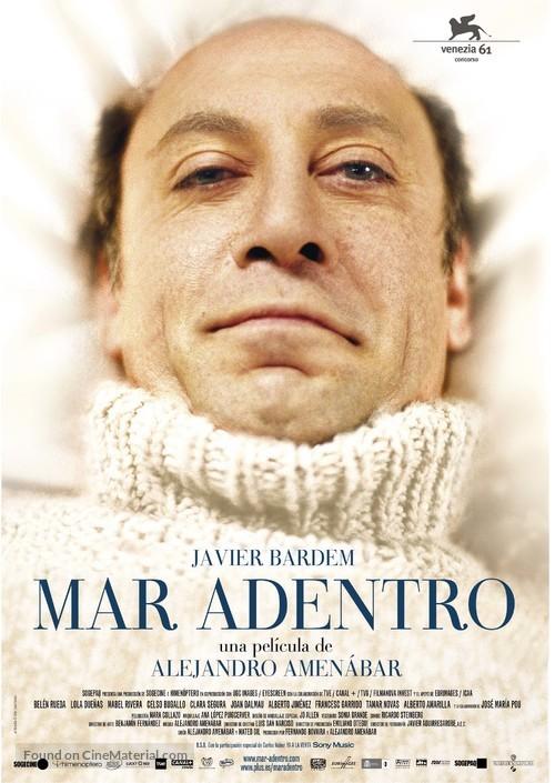 Mar adentro - Spanish Movie Poster