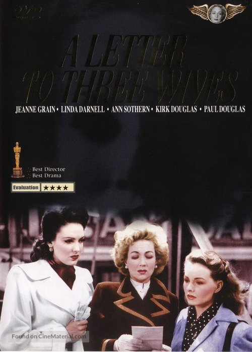 A Letter to Three Wives - Hong Kong DVD movie cover