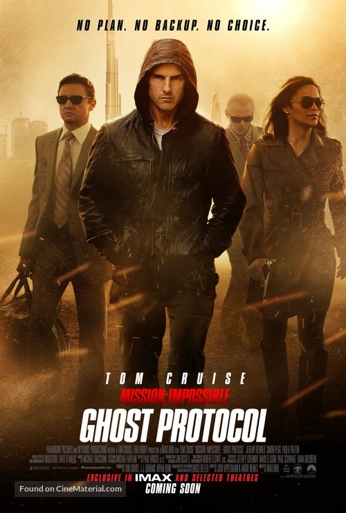 Mission: Impossible - Ghost Protocol - British Movie Poster