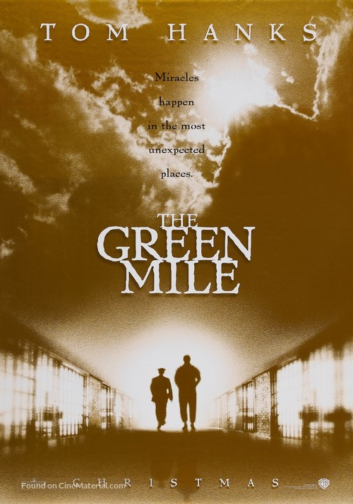 The Green Mile - Advance movie poster