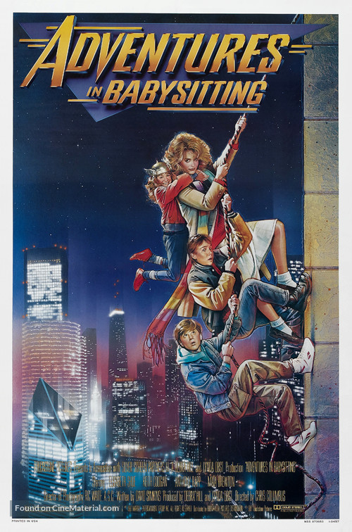 Adventures in Babysitting - Theatrical movie poster
