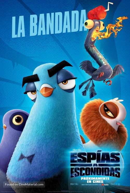 Spies in Disguise - Argentinian Movie Poster
