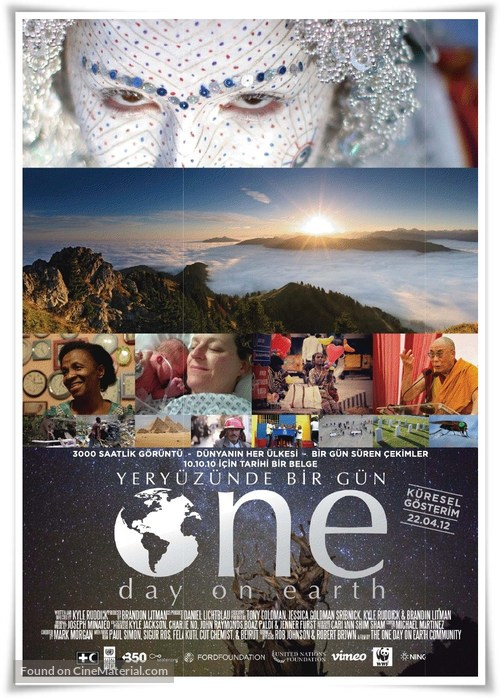 One Day on Earth - Turkish Movie Poster