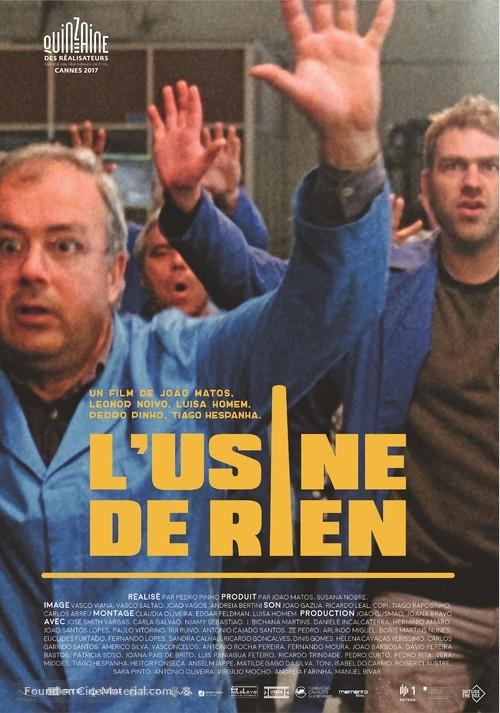 A Fábrica de Nada - Swiss Movie Poster