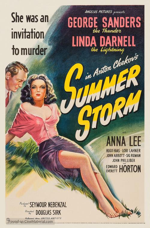Summer Storm - Movie Poster