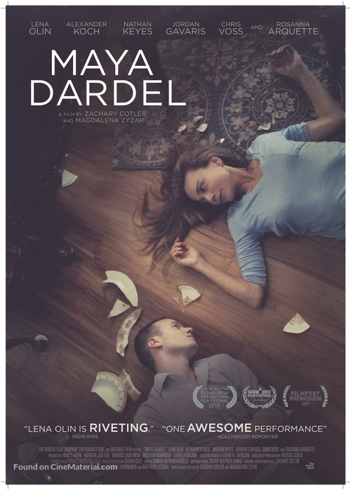 Maya Dardel - British Movie Poster