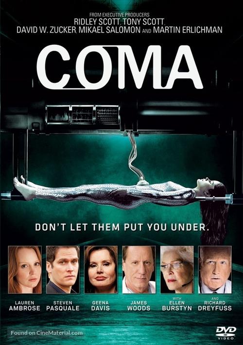 """""""Coma"""" - DVD movie cover"""