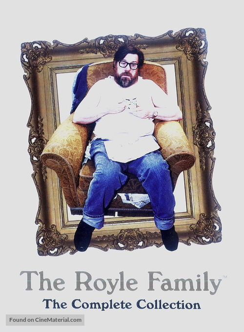 """""""The Royle Family"""" - DVD movie cover"""