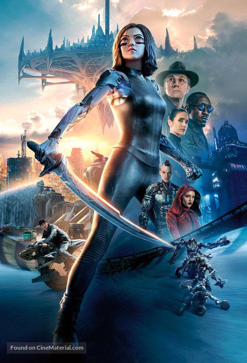 Alita: Battle Angel - Key art