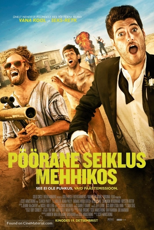 Search Party - Estonian Movie Poster