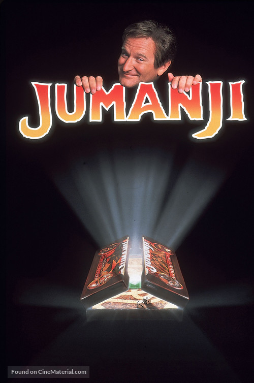Jumanji - DVD movie cover