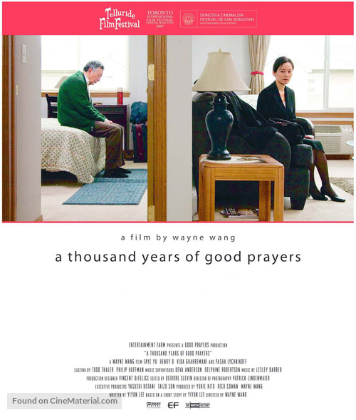 A Thousand Years of Good Prayers - Movie Poster