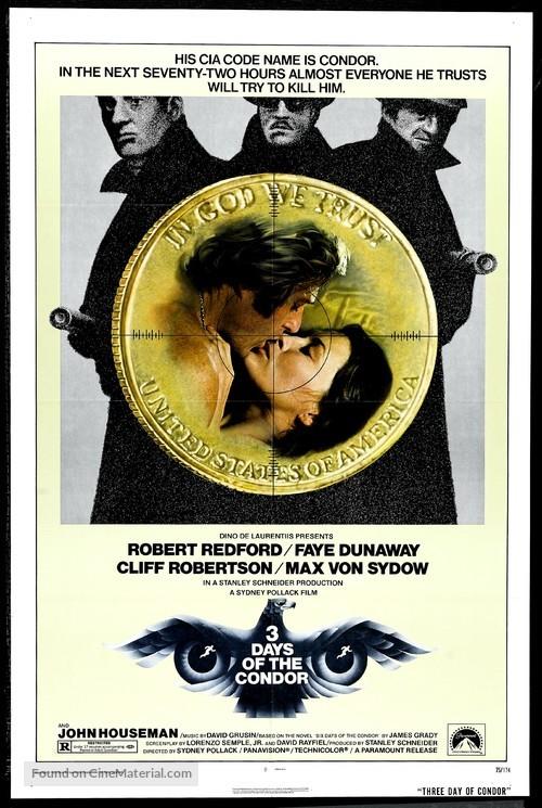 Three Days of the Condor - Movie Poster