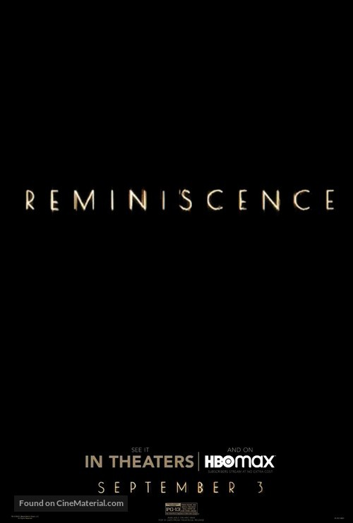Reminiscence - Movie Poster