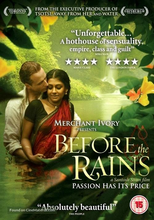 Before the Rains - British Movie Cover