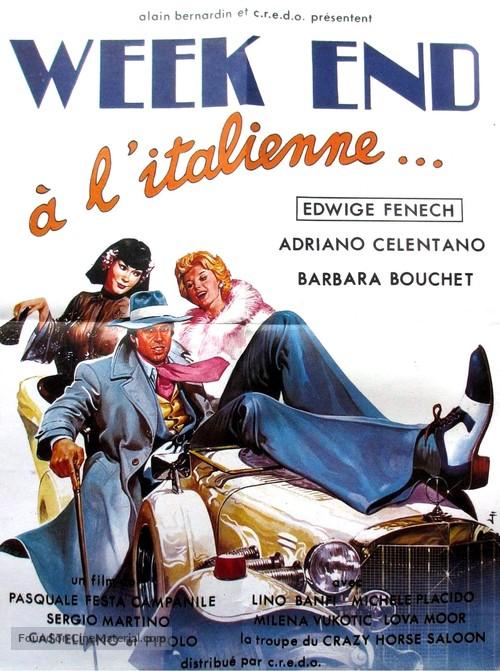 Sabato, domenica e venerdì - French Movie Poster
