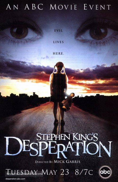 """""""Desperation"""" - Movie Poster"""