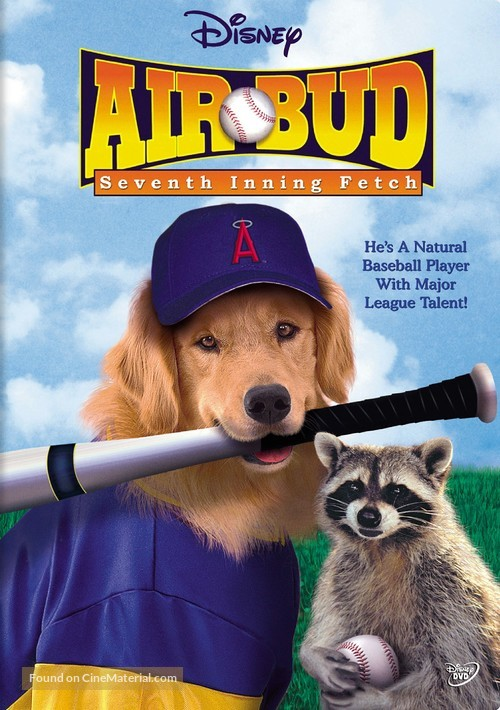 Air Bud: Seventh Inning Fetch - DVD movie cover
