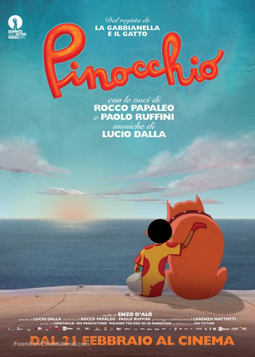 Pinocchio - Italian Movie Poster