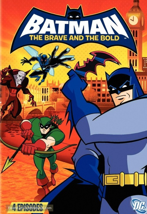 """Batman: The Brave and the Bold"" - Movie Cover"