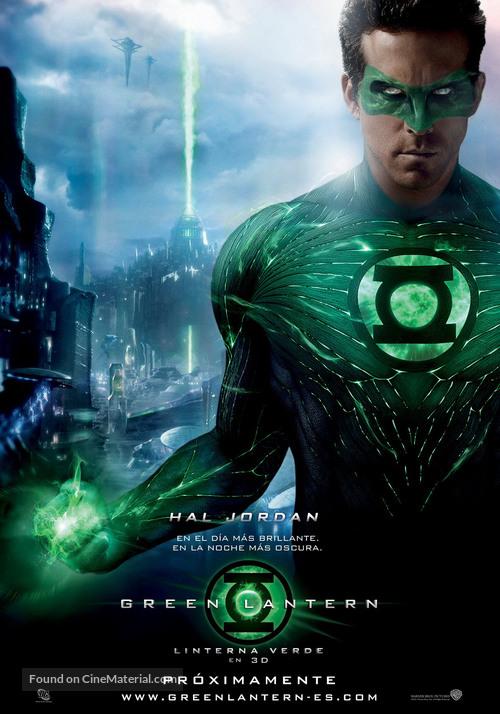 Green Lantern - Spanish Movie Poster