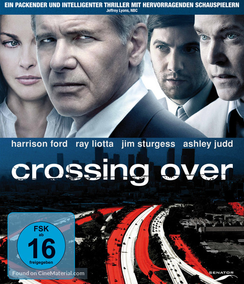 Crossing Over - German Blu-Ray movie cover