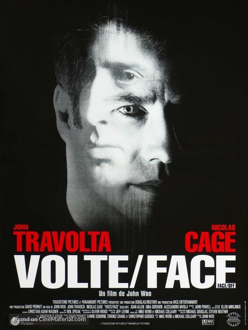 Face/Off - French Movie Poster